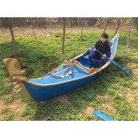 楚水上海木船直销 威尼斯贡多拉游船 景观装饰船 欧式木船 客船出售