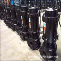 无堵塞污水泵 100WQ80-10-4排污泵 潜水电泵QW污物潜水泵