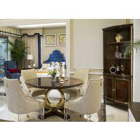 美式家具|南昌名居库|实木餐桌椅组合