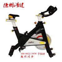 新型无声动感单车厂家高级动感单车价格浩健健身车品牌