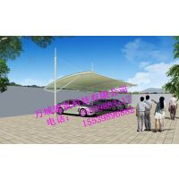 黑河膜结构车棚,车棚设计,张拉膜效果图设计,钢结构加工Q235