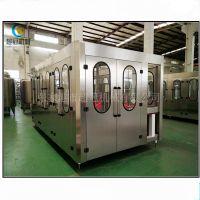 超冠专业定制生产瓶装水灌装设备 全套三合一灌装机