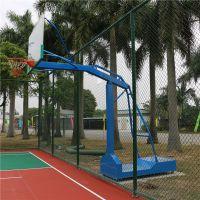 株洲市工厂的球架 s户外的篮球场使用的运动设施 株洲县篮球场配套的篮球架
