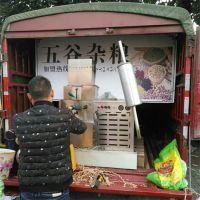 阳泉畅销面粉杂粮组合膨化机 可做多种花型 泰丰四缸汽油机一键启动功能