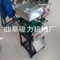油坊专用小型多用途粮食挤扁机 大豆压扁机 骏力热销 多功能压片机