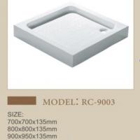 潮州方形亚克力淋浴盘卫生间多尺寸可选底座