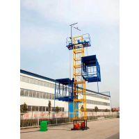 新疆大阪城双轿厢物料提升机 垂直施工升降物料电梯