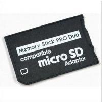 供应 MicroSDto MSproduo 单通道TF卡转MS转接卡TF-MS卡套