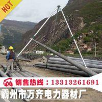 国标铝合金立杆机管径100/120/150三角立杆机