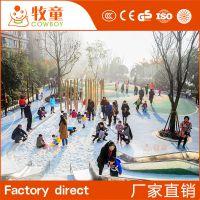 定制户外儿童乐园游乐设备 室外广场儿童游乐设施不锈钢滑梯定做