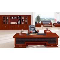 组合高档办公桌,天津主管桌,原木班台老板桌