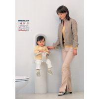 上海直销壁挂式儿童座椅BK-06FL 日本combi康贝婴儿护理台 BK-06FL安装图纸