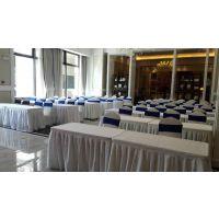天津租赁1,2米桌子 有桌布 出租折叠椅 黑色白色 负责运输摆放