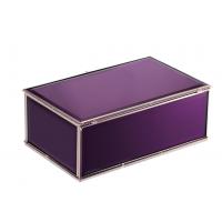 鸿茂玻璃厂家代加工定制商务礼品家居工艺品首饰箱求婚首饰盒收纳盒