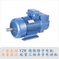 南宁yzr冶金起重电机 YZR112M-6-1.5KW 塔吊回转三相异步电动机 安尔特