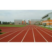 漯河塑胶跑道专业施工、人造草坪生产厂家、硅PU球场施工设计001