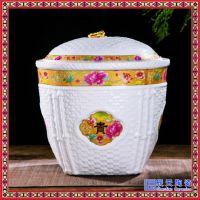 陶瓷米缸家用 厨房必备防虫密封储物罐陶瓷面粉罐米缸