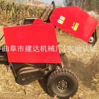 青海牧草收割完捡拾打捆机 作为饲料用打包机