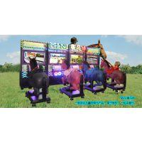室内投币电玩 动感游戏机 模拟骑马游乐设备 广州肯琰优-MINI赛马场