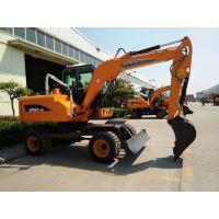 犀牛轮式抓木机 85-9Y轮胎式挖掘机 进口配置全国联保