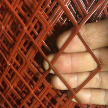 建筑平台钢板网 裁片钢板网 拉伸花网