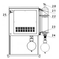 钒帜JMF-320G型植物提取实验室蒸馏器