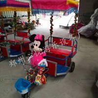 河南郑州广场毛绒电动机器人蹬车,第三代双人机器人拉车多少钱一台