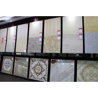 盛星装饰材料展厅大地砖展示