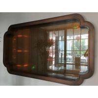 酒店装饰不锈钢镜框,各种异形不锈钢镜框定制件