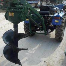 拖拉机配套植树挖坑机 400MM树坑挖掘机 邦腾供应