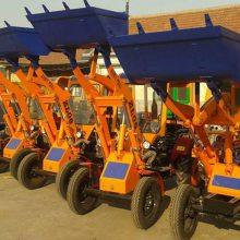 畅销ZL-06型动臂无死角小型装载机无极变速小铲车志成装载机