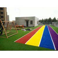 幼儿园室外空间设计规划_幼儿园场所系列产品_户外休闲运动人造草坪