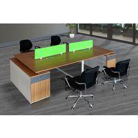 长春办公家具屏风办公桌简约4/6人桌椅组合员工卡座