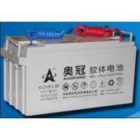洛阳奥冠蓄电池6-CNFJ-80奥冠12V80AH北京销售总部
