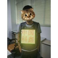 科鑫光电LED广告衣,LED马甲屏,可以穿戴在衣服上打广告的显示屏