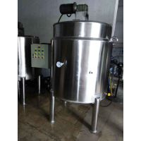 广州方联供应1000L不锈钢发酵罐立式电加热搅拌罐酵素设备厂家