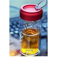 批发蘑菇杯定制logo随手杯创意便携布套玻璃杯广告印字礼品学生杯