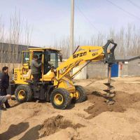 定制加长钻头钻坑机 大功率耐磨挖坑机 省工快速挖坑机械 博信达