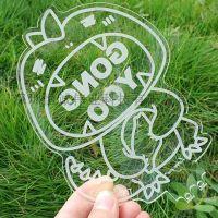 工业型厂家直销透明设备状态标识牌有机玻璃制品万能平板彩印设备