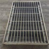下水道排水沟盖板_雄安扁钢焊接水沟盖板_安平恒晨镀锌格栅板厂家直销