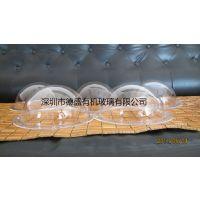 深圳德盛亚克力半圆球罩 有机玻璃透明半罩 防尘罩 半圆展示罩