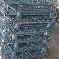 镀锌铁筐 拉货周转筐 金属折叠仓储笼 1000*800*840 超级承重1500kg厂家批发
