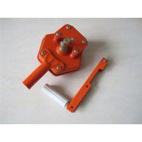 温室大棚韩式卷膜器 手动侧卷 铁质配件资材摇膜器 卷帘机