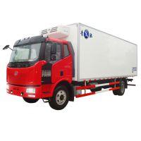 7.6米解放j6冷藏车价格,220马力冷藏车报价,一汽解放冷藏车厂家直销
