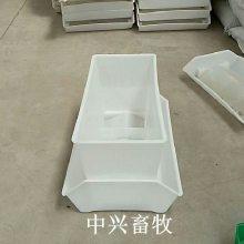 抗腐蚀鸭料箱白色低沿鸡料箱白色鸭料箱