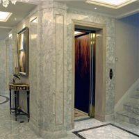 庆云320kg加装曳引式家庭住宅电梯0.4速度框架式别墅电梯