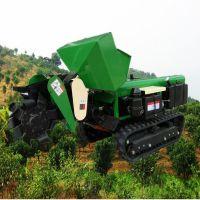 28马力履带式回填机 多功能开沟施肥机 启航牌山地土地松土旋耕机