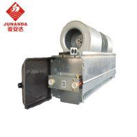 骏安达风机 12号卧式暗装盘管机 FP-204WA冷暖水空调末端盘管 厂家