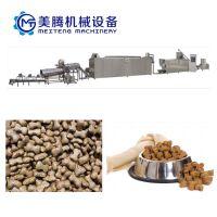 狗场养殖饲料加工设备宠物食品生产线美腾