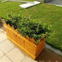 木质组合花箱在走环保路线